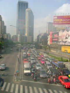 trafic bangkok