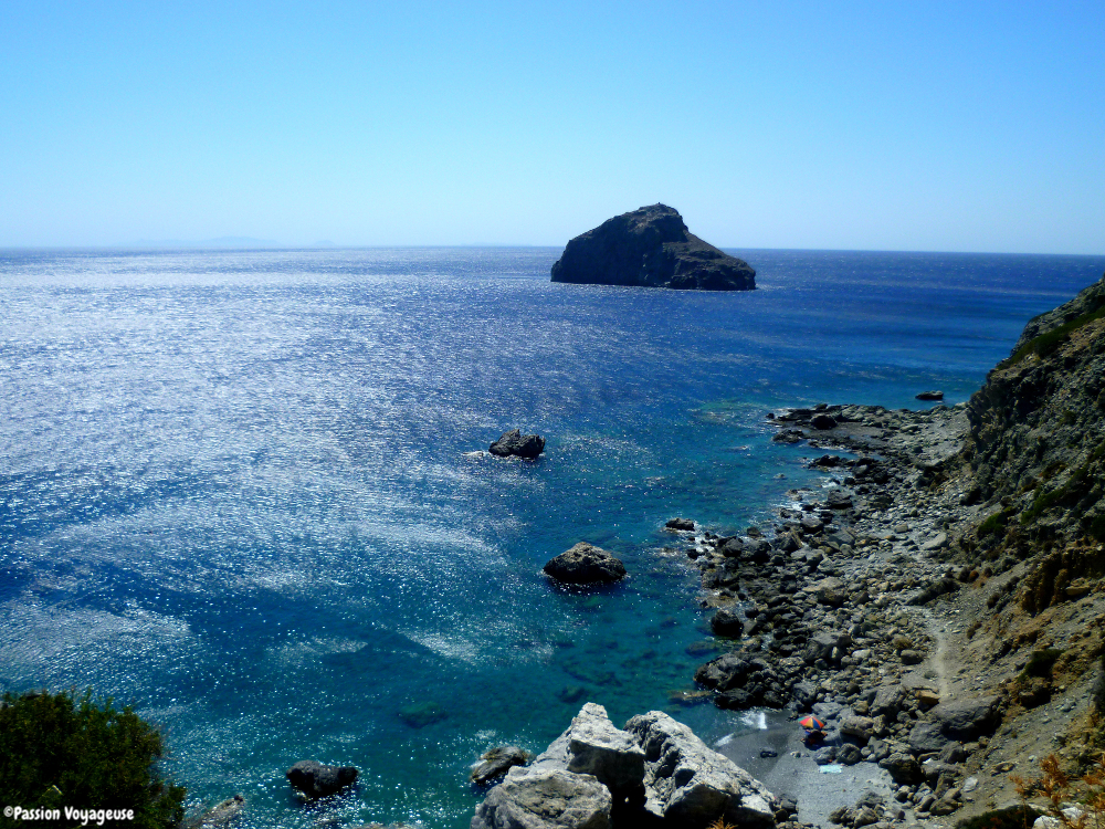 Seule à Amorgos, l'île mystérieuse !
