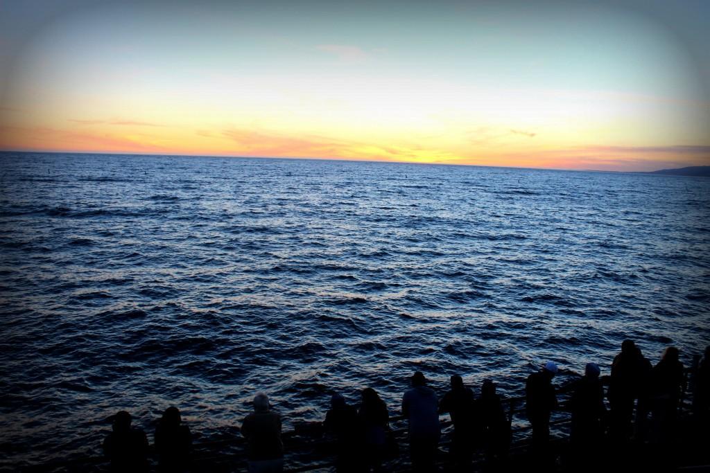 Sunset de Santa Monica Pier