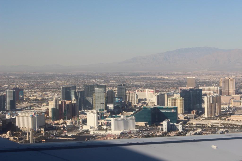 Vue du ciel Las Vegas