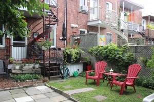 jardin montreal privé