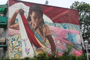 centre ville peinture streetart