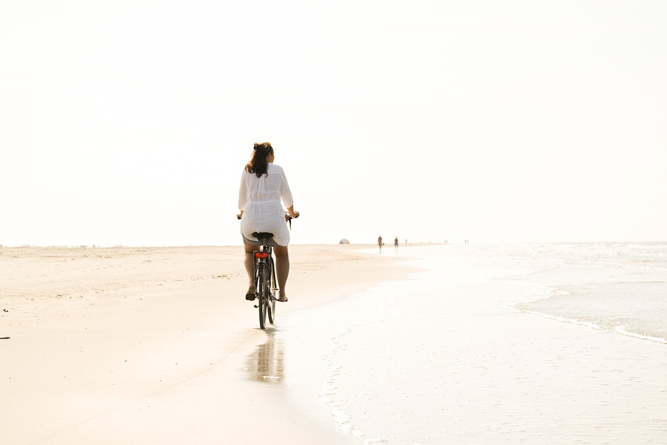 guide voyager seule vélo plage
