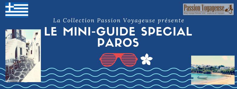mini guide voyage paros