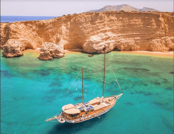 Croisière sur un voilier en Grèce!