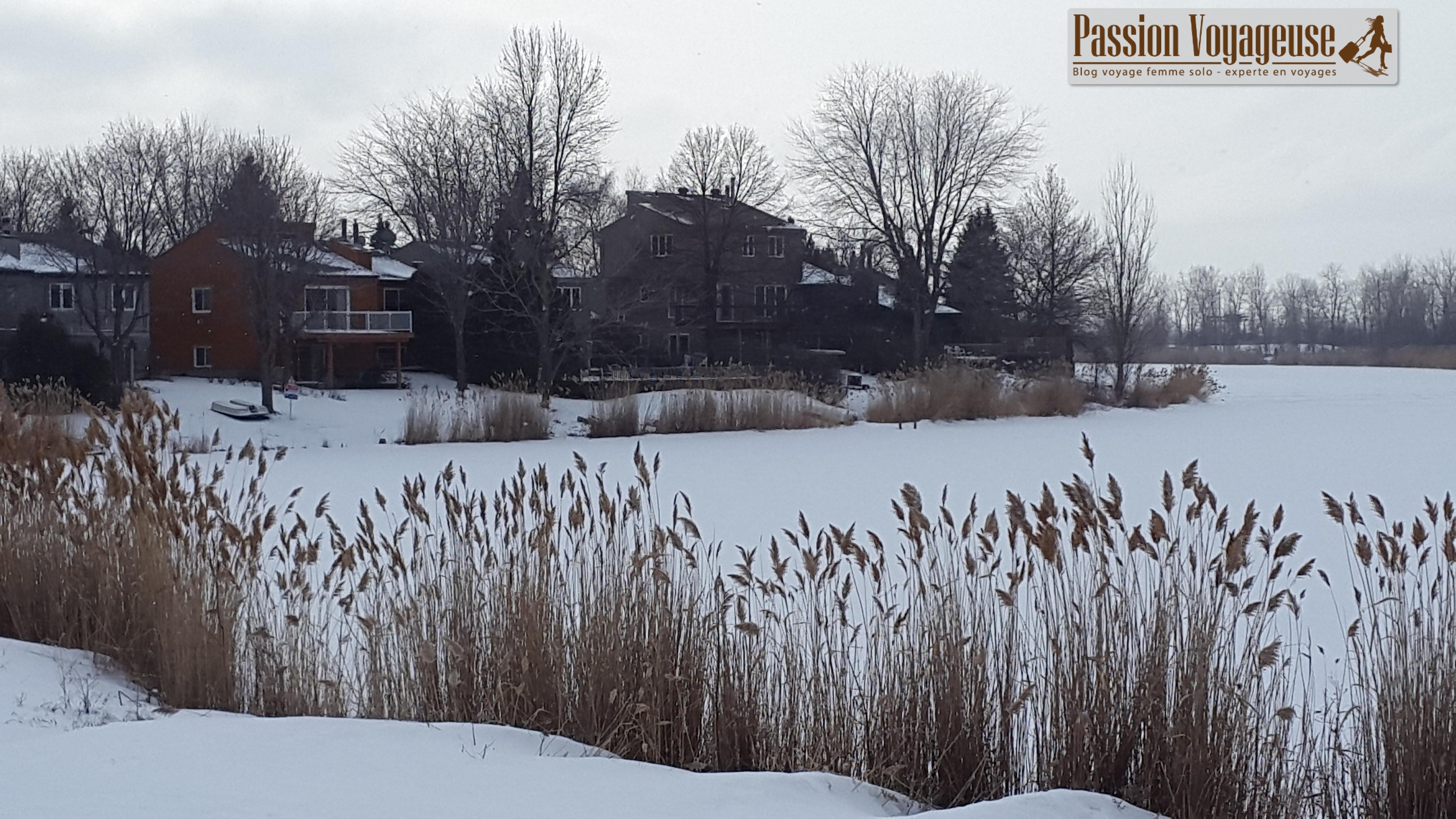 lac nature hiver québec la prairie