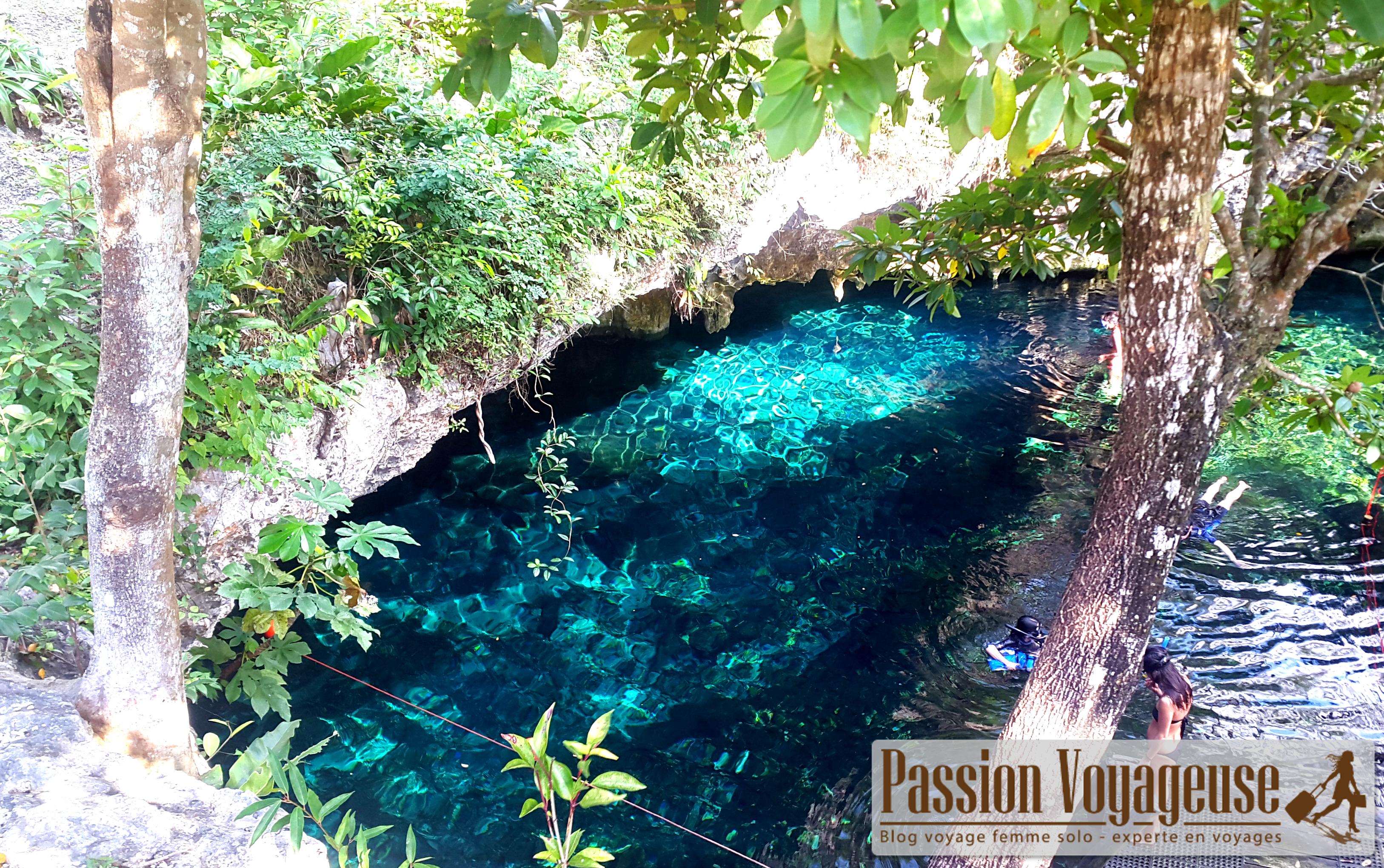 cenotes yucatan grottes mexique