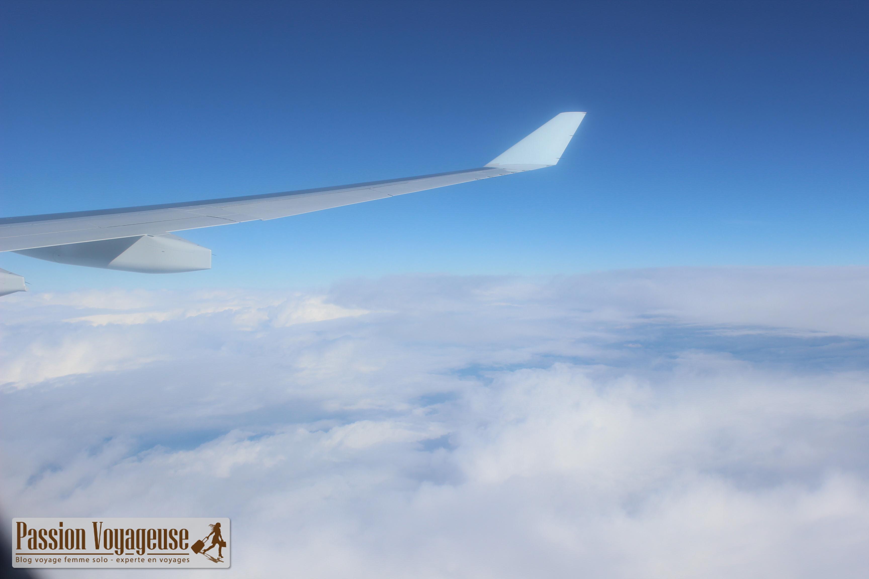 air canada vue avion depart canada