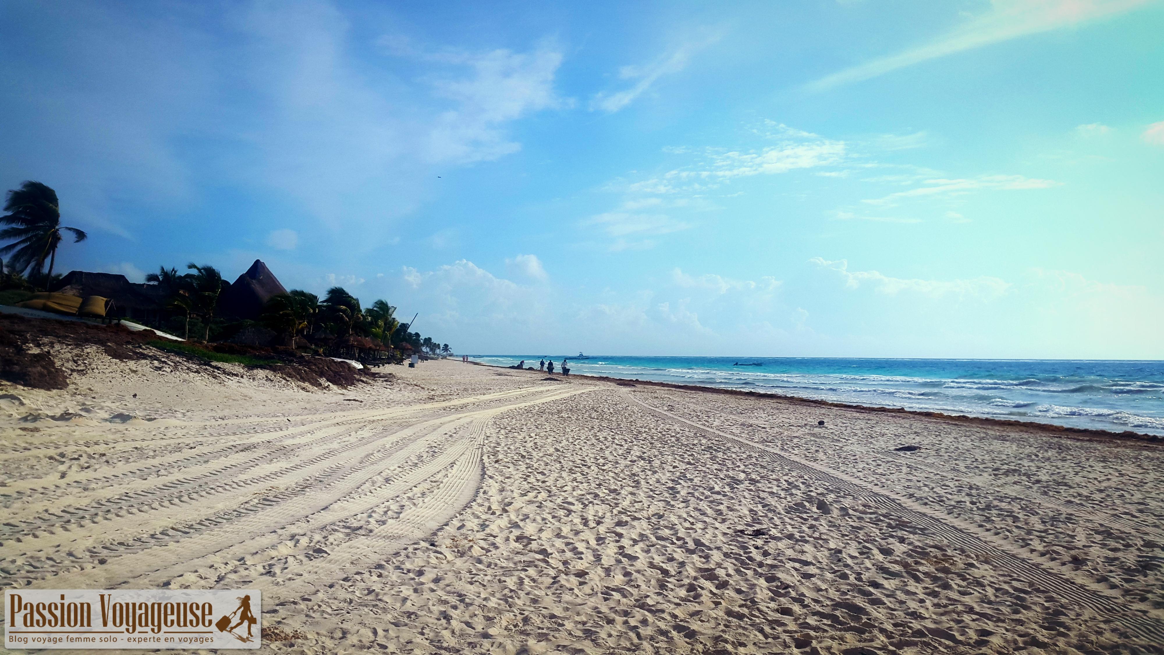 mexique tulum plages yucatan