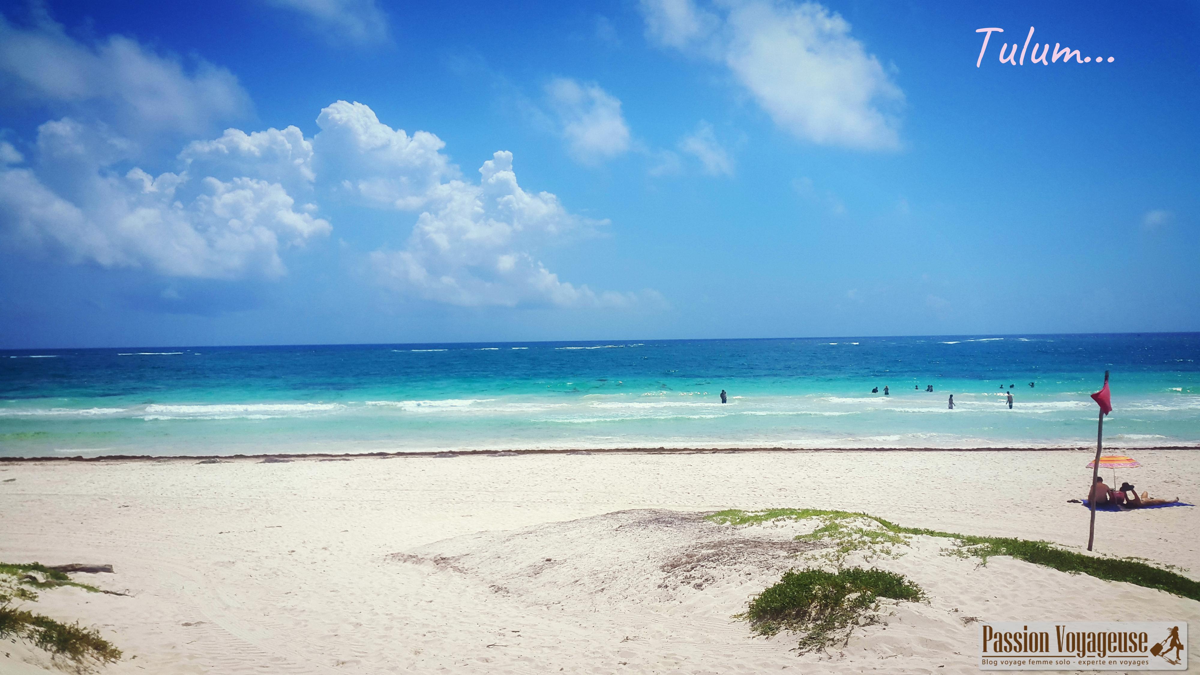 tulum mexique plages yucatan