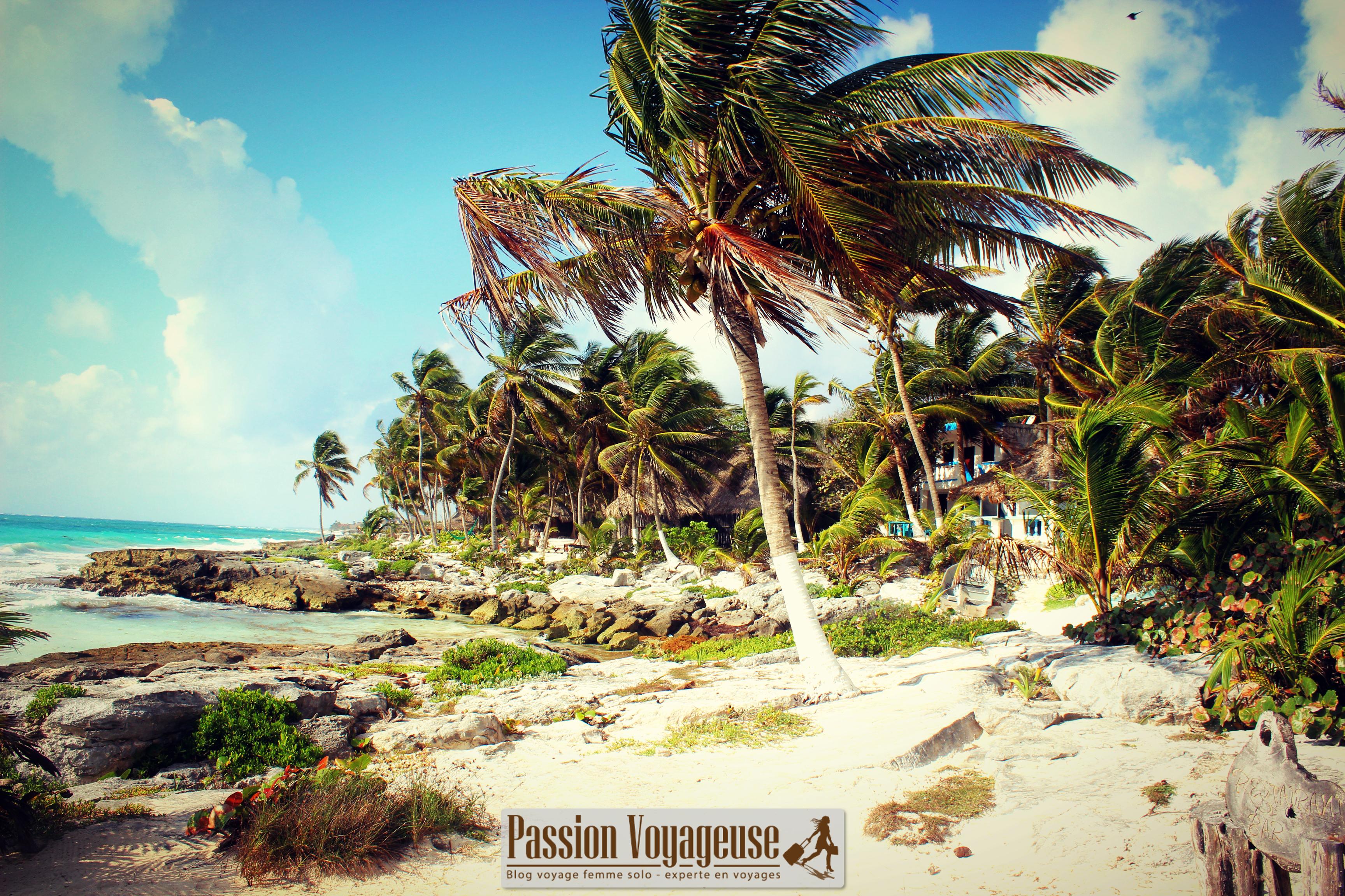 mexique tulum yucatan plages
