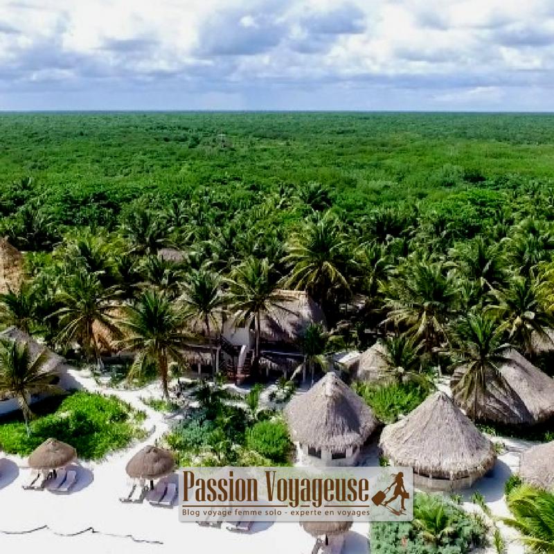 Tulum plages mexique maya hotel