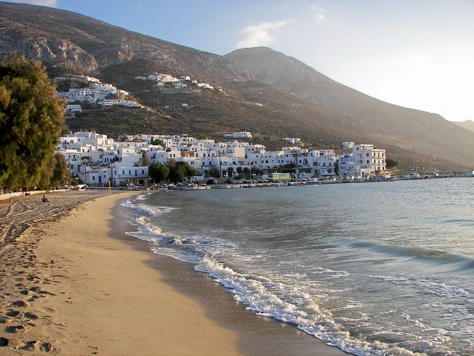 aegiali amorgos beach