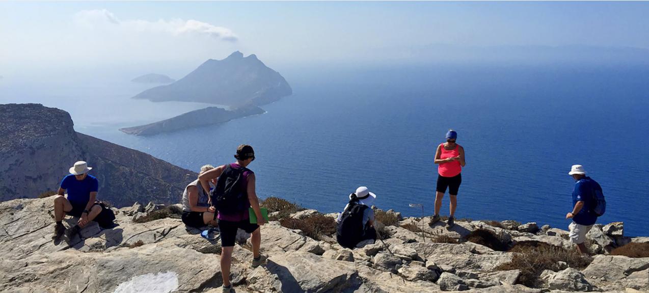 Randonnée à Amorgos la Magnifique!