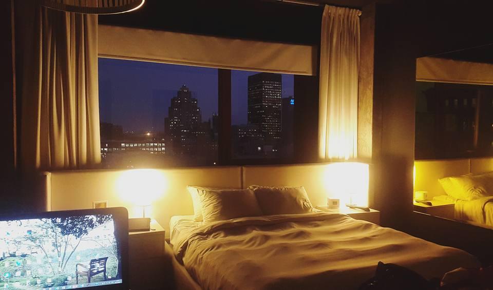 chambre hotel zero1 vue