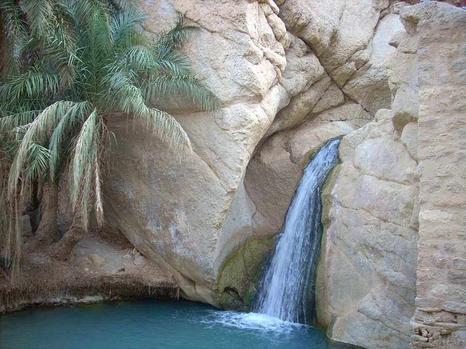 tunisie cascade sud
