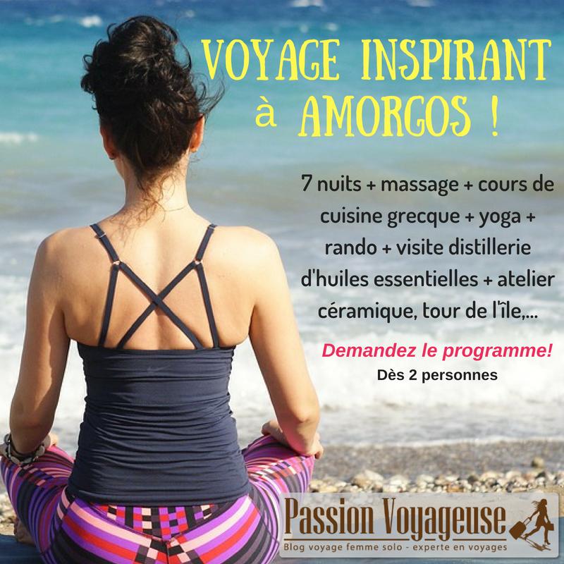 Un voyage ZEN et inspirant à Amorgos
