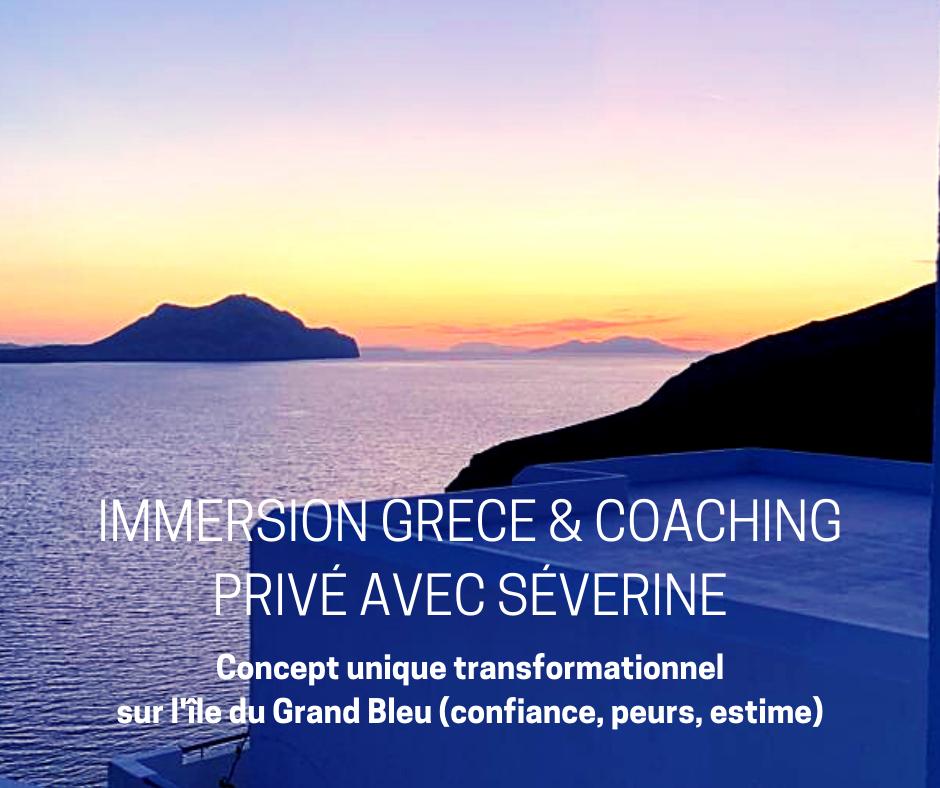 coaching privé grèce immersion avec séverine
